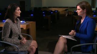 Watch Ambassador Nikki Haley