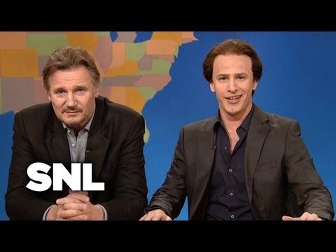 Weekend Update: Get in the Cage With Liam Neeson - Saturday Night Live