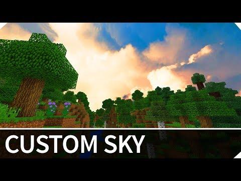 Minecraft Addon of The Week #1: CUSTOM SKY — Addon for MCPE / Minecraft PE 1.4 / 1.3