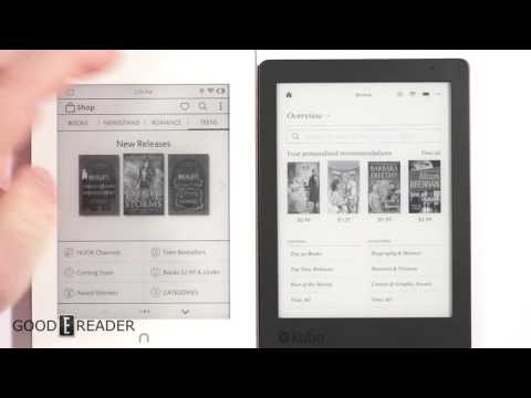 B&N Nook vs Kobo - Buying e-books