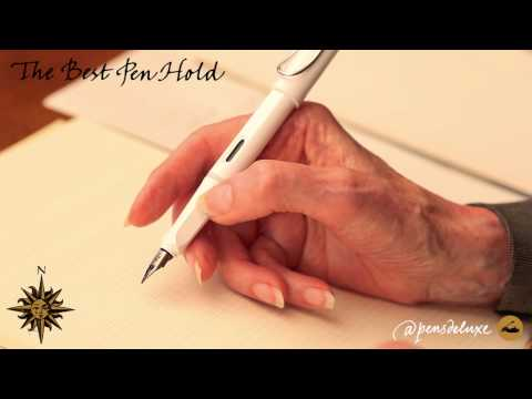 Penmanship • The Best Pen Hold