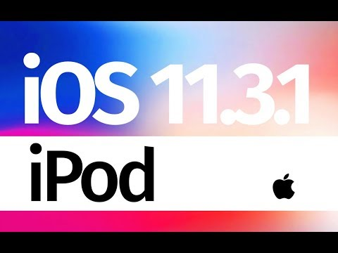How to Update to iOS 11.3.1 - iPod touch