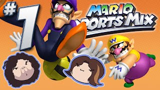 Mario Sports Mix: Dodge! - PART 1 - Game Grumps VS