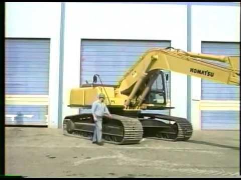 Komatsu Excavator Controls
