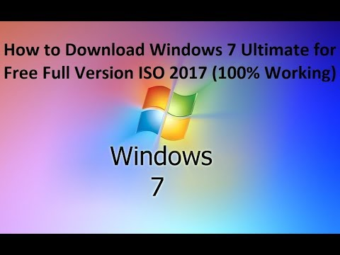 How to Download Windows 7 Ultimate for Free Full Version ISO 2017 100% Working