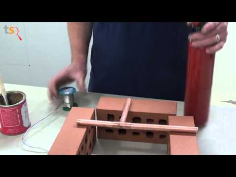 Tommy's Trade Secrets - How to Solder Copper Fittings