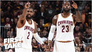 Download Kyrie Irving is using LeBron James as a prop - Max Kellerman | First Take Video
