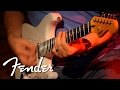 Squier Vintage Modified Surf Strat Dirty Tone Demo | Fender
