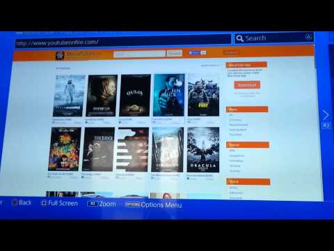 Watch free movies on ps4