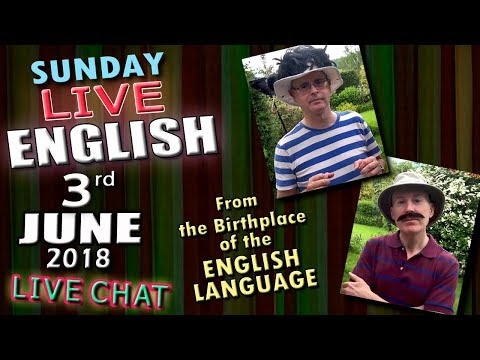 The English Language - LIVE LESSON - Improve Your Listening - 3rd June 2018 - with Mr Duncan