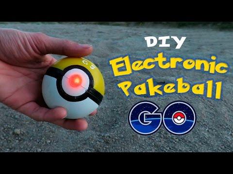 DIY Electronic Poke Ball - How To Make an Electronic PokeBall - Pokemon GO!
