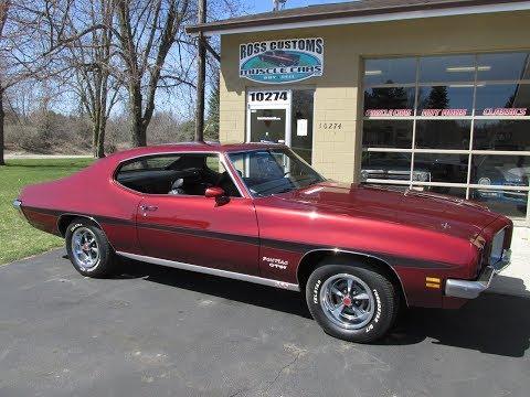 RossCustomsMI.com - SOLD SOLD - 1971 Pontiac Lemans GT-37 - $27,900