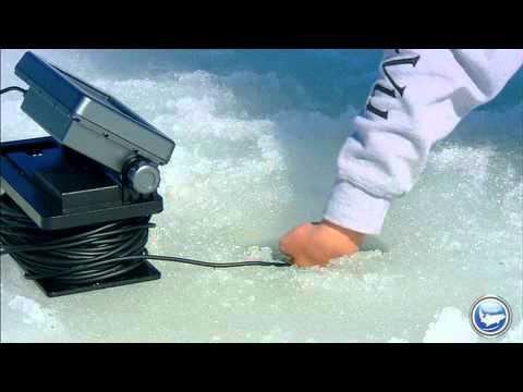 Soft-plastics are a modern ice fishing technique for bluegills