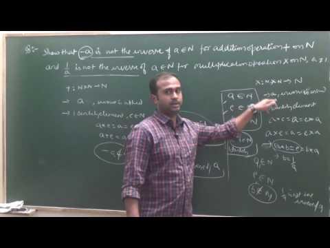 Inverse of an element for Binary Op. | CBSE 12 Maths Ex 1.4 intro (Part 5)