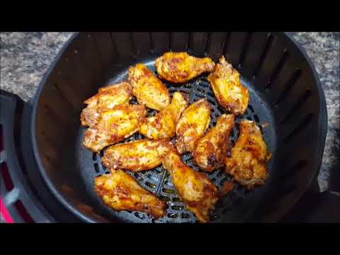 Air Fryer Naked Chicken Wings!!!