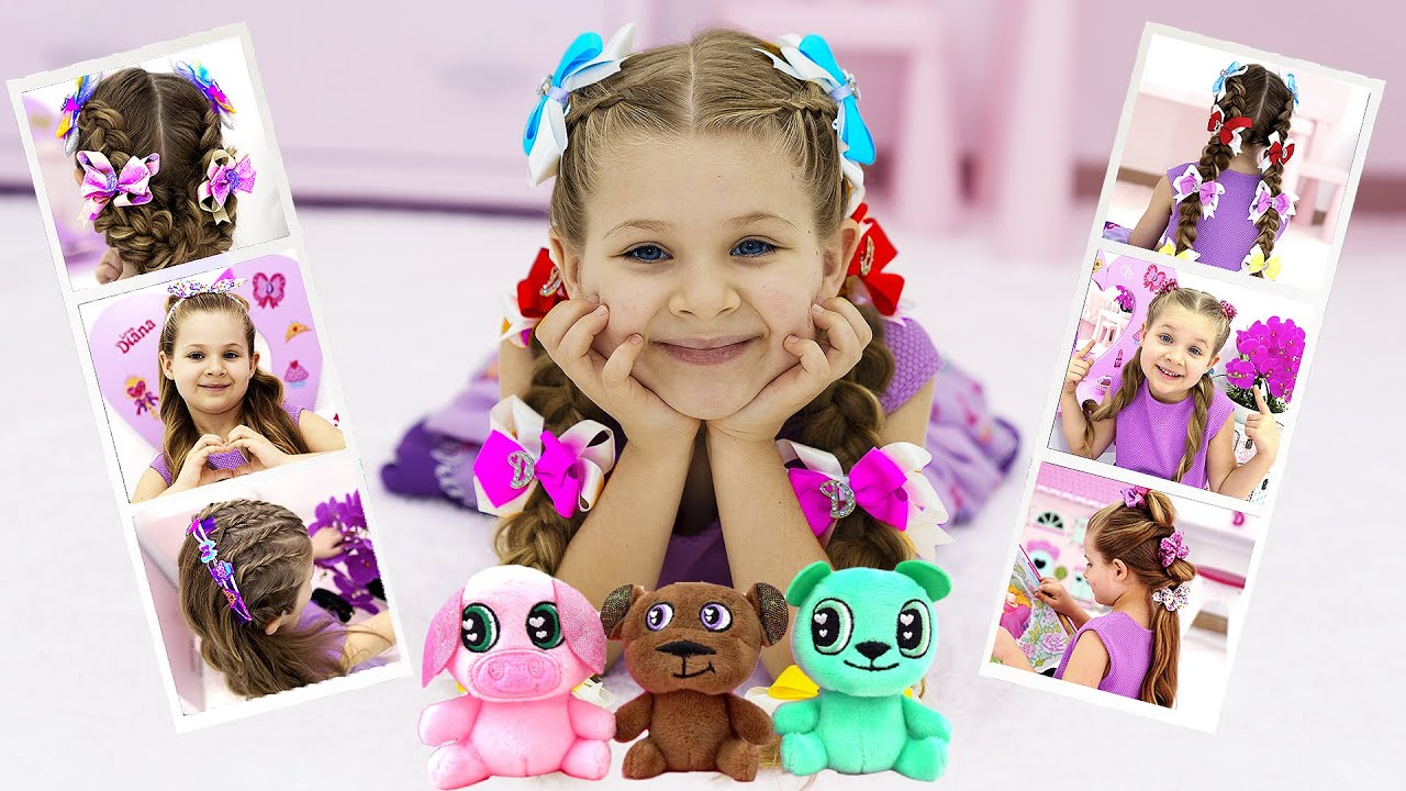 Diana's Stories about Hair Accessories and Toys that She helped to create