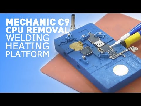 MECHANIC C9 High Quality CPU Remove Welding Heating Platform For IPhone A8 A9 A10