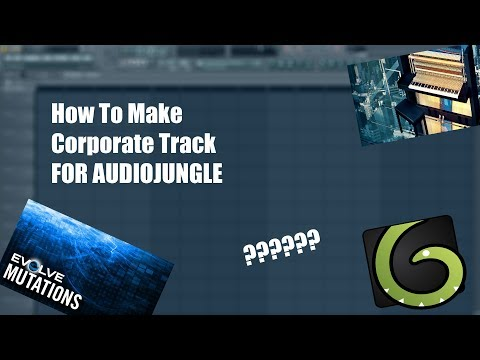 Audiojungle/ How To Make Bestseller Corporate Track for audiojungle, pond5, premiumbeat