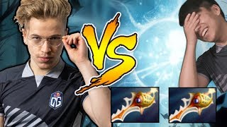 Topson mid vs Double Rapier IO Carry 60min Epic Game Dota 2