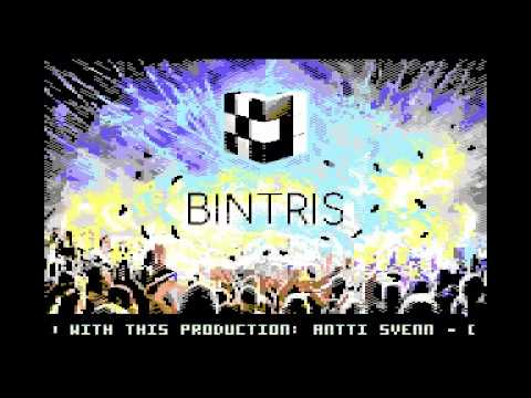 BINTRIS the GAME on Commodore 64
