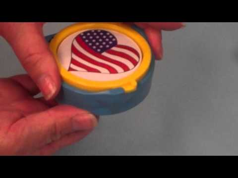 How to Make a Pin-Back Button with a Badge-A-Minit Hand Press