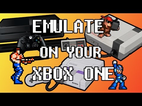 SNES/NES Emulator on Xbox One NESBOX TUTORIAL