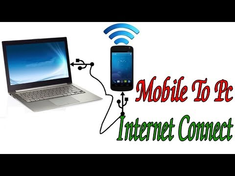 Mobile to Pc / Laptop Internet Connect