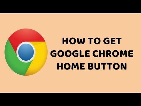 How to Get Google Chrome Home Button   Show Home Button in Google Chrome   Tutorials In Hindi