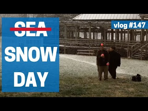 Sea Day - Snow Day - vlog 147