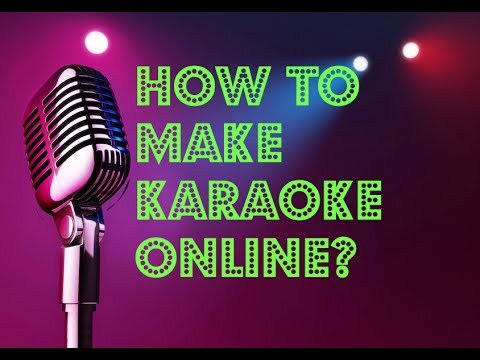 HowTo make karaoke via Vocal Remover Pro Online for free (HD) 2018.
