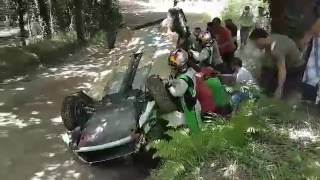 WRC Rally de Portugal 2017 - Andreas Mikkelsen Crash