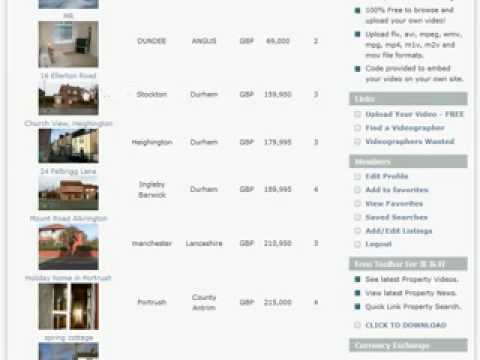 Property for Sale in England, UK. Free Advertising for Property at OneStopView.com