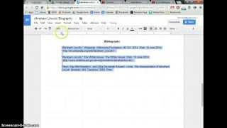 Make Hanging Indent In Google Docs