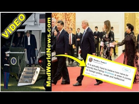 VIDEO: NY Times Lies About Trump's Asia Trip, POTUS Shuts Up 'Naive' Haters With 3 Words