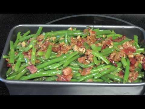 Gourmet Green Bean Recipe made Simple! ~Easy Side Dish~