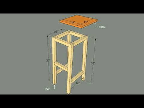 HOW TO : Build Bar Stools Out of Saddles