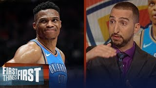 Nick Wright reacts to Westbrook