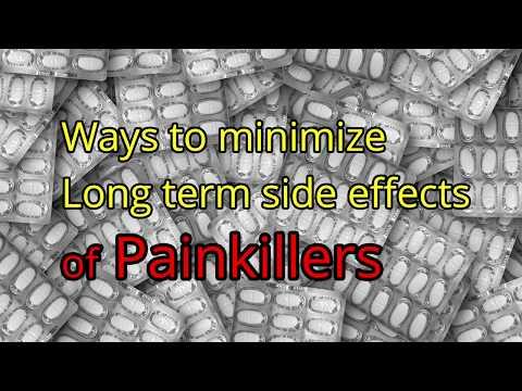 Ways to minimize Long term side effects of Painkillers - Dr. Brij Mohan Makkar