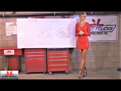 Sexy Leah explaining the differences between the 3 ABS Channel Systems