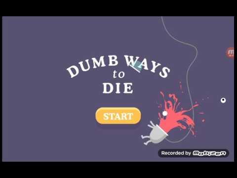 Dumb Ways To Die : My First Video