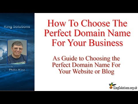 How to Choose the Perfect Domain Name for Your Business