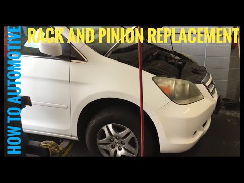 How to Replace the Rack and Pinion on a 2006 Honda Odyssey