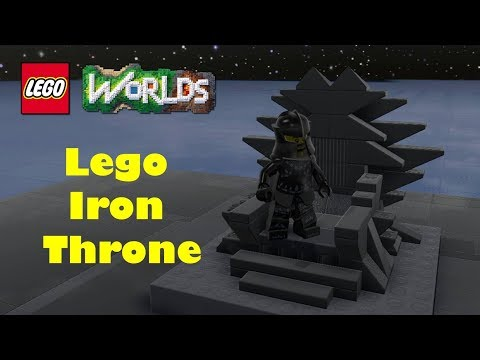 How to build the Iron Throne with Lego