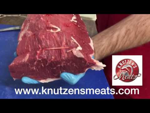 The Bottom Round Roast: Meat shop Minute