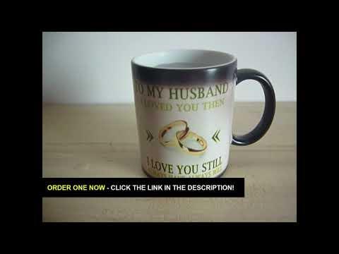 To My Husband Heat Mug Gift Video Review