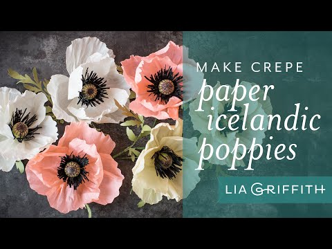How to Make a Crepe Paper Poppy