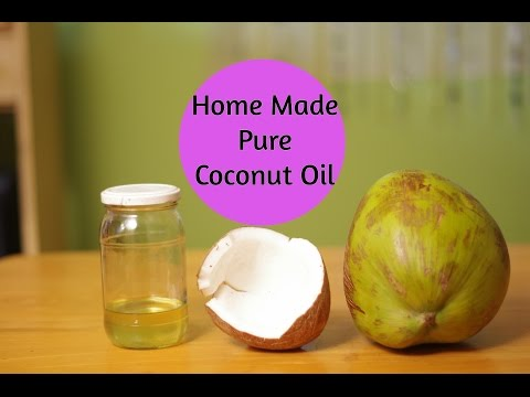 How To Make PURE Coconut Oil at Home for beautiful skin & hair| Sushmita's Diaries