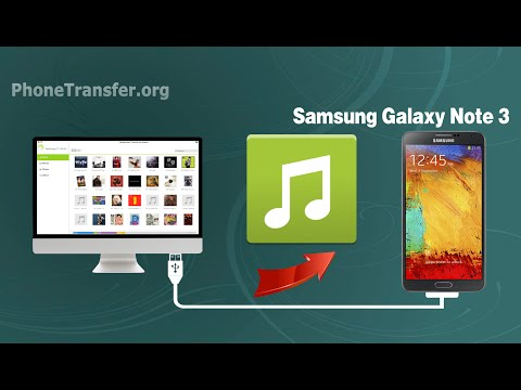 How to Sync Music from Mac to Samsung Galaxy Note 3, Import Songs to Note 3 on Mac