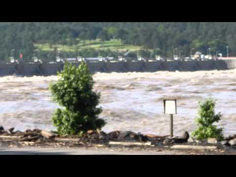 Dardanelle Dam High Water
