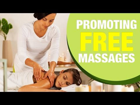 Marketing Massage with Gift Certificates